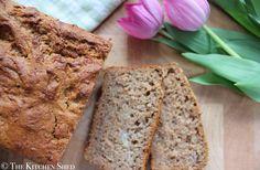 Clean Eating Wholewheat Banana Bread