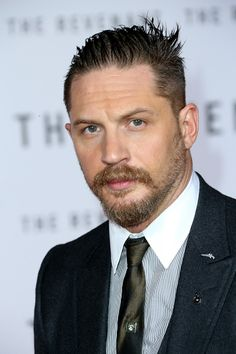 Tom Hardy attends the premiere of 'The Revenant' at the TCL Chinese Theatre on December 16, 2015 in Hollywood, California. Photo: Frederick M. Brown / Getty Images