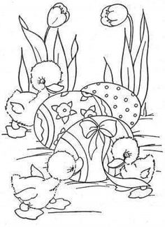 Print and color Easter Coloring Sheets, Spring Coloring Pages, Coloring Easter Eggs, Coloring For Kids, Coloring Pages For Kids, Coloring Books, Colorful Drawings, Colorful Pictures, Easter Colors