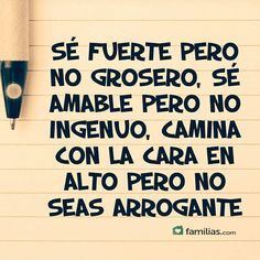 No seas Arrogante