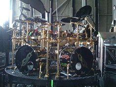 Joey Jordison's Shiny Drum Kit