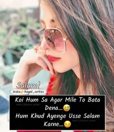 Bff Quotes, Truth Quotes, Mood Quotes, Cute Attitude Quotes, Cute Love Quotes, Crazy Girl Quotes, Crazy Girls, Bollywood Quotes, Acrylic Nail Shapes