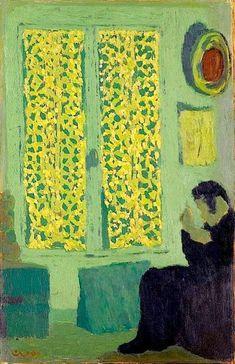 """Édouard Vuillard, """"Intérieur vert"""", 1891."""