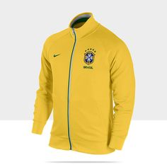 Brasil CBF Core Trainer Men's Soccer Track Jacket