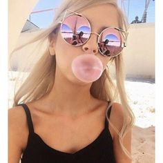Sunglasses: cat eye pink ombre pink shoes cat eye round summer retro... ❤ liked on Polyvore featuring accessories, eyewear, sunglasses, retro cat eye sunglasses, mirrored sunglasses, mirror sunglasses, cat eye sunglasses and cat-eye glasses