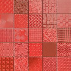 Rojo Tiles Patchwork Mosaic Effect Mosaic Tiles from Walls and Floors - Leading Tile Specialists - Over 20 Million Tiles In Stock - Sold Per SQM Mosaic Tiles Uk, Ceramic Wall Tiles, Red Brick Tiles, Red Tiles, Cardiff, Red Kitchen Tiles, Kitchen Walls, Porch Tile, Wall Tile Adhesive