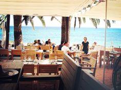 The #terrace at La Escollera #Ibiza www.laescolleraibiza.com www.facebook.com/laescolleraibiza