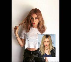 Ashley Tisdale affiche maintenant un blond fraise très tendance !