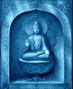 Those who are free of resentful thoughts surely find peace. - Buddha — with Blue Buddha Quote Collective.
