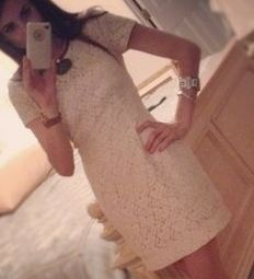 French Connection Lace Dress http://rstyle.me/hjj79mbu6e