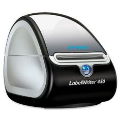 DYMO LABELWRITER 450 Label Printer,(1752264), USB, PC/MAC, Printer and Software, 51 Labels Per Minute, black/silver   DYMO Label version 8 software enables you to create and print address, shipping, file, folder and barcode labels, plus name badges and more   endorsed by Danni of oh hello friend