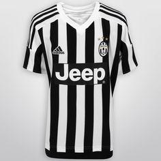 Con el Jersey Infantil Adidas Juventus Casa 15/16 s/n°, tus pequeños podrán lucir con orgullo su afición por el actual campeón del Calcio. Está confeccionado con tejido CLIMACOOL, sistema que lo mantendrá fresco y seco todo el tiempo.