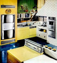 kitchen design 1958 | Kitchen (1958)