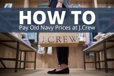 If you are in love with J.Crew like I am, this site will become your new bestfriend!