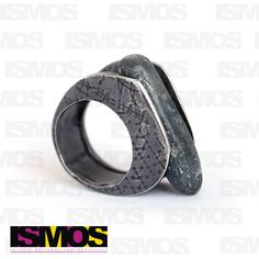 ISMOS Joyería: anillo de plata con piedra // ISMOS Jewelry: silver ring with stone