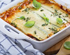 Rezept für Low-Carb Lasagne. Wenig Kohlenhydrate, viel Eiweiß und mega yummy!