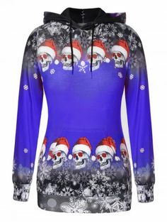 Plus Size Pullover Skulls Snowflake Christmas Hoodie Plus Size Pullover, Plus Size Hoodies, Sweat Shirt, 3d Christmas, Christmas Hoodie, Christmas Outfits, Skull Hoodie, Style Retro, Pattern Fashion