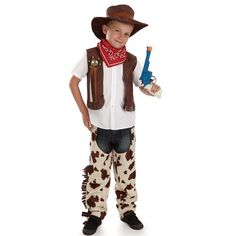 Cowboy childrens dress up costume by Fun Shack