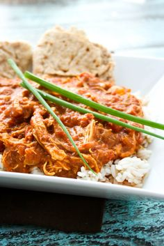 Slow Cooker Butter Chicken is deliciously different. #CrockPot