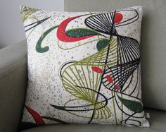 Eames Era Pillow Cover Cushion Atomic 50s Original by nicework, £18.00