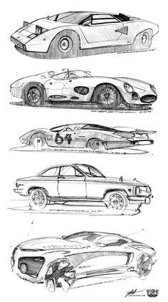 training pt.7 black pan #study #doodle #sketch #art #draw #auto #cardesign #classic #ballpen #pen Blog: http://chepushtanovv.blogspot.ru/  Behance: https://www.behance.net/chepushtanovv