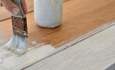 vintage möbel look selber machen weiß streichen