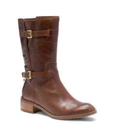 Every style-setter needs a staple pair of boots to anchor their look, and our Blake design is just the pair for the job. The distressed leather is finished with our signature high-shine hardware and a sturdy zip closure, ensuring they're the ultimate in off-duty footwear. They will lend just enough edge to everything from skinny jeans to your favorite minis and midis.