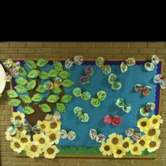 Spring bulletin board idea for kids | Crafts and Worksheets for Preschool,Toddler and Kindergarten