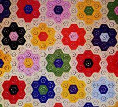 Afghan crochet & patchwork