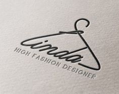 Linda High Fashion Designer Logo | Logo Designer Bradenton, Web ...