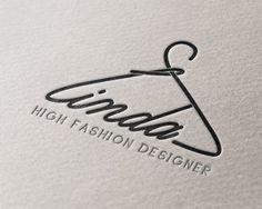Linda High Fashion Designer Logo | Logo Designer Bradenton, Web ...