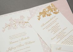 Gorgeous paper pretties by @Watermark Stationery
