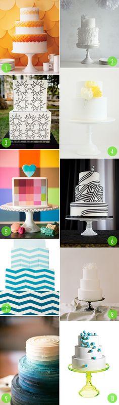 Top 10: Modern wedding cakes | 5 | Brooklyn Bride - Modern Wedding Blog