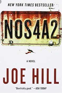 #whatimreading a great book by Joe Hill! Awesome!