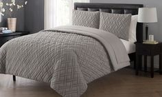 Groupon - Embossed Bed-in-a-Bag with Solid Sheets (5 or 7 piece). Groupon deal price: $39.99
