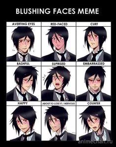 Эмоции Себастьяна