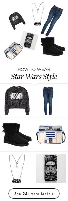 """Star Wars"" by mtf03 on Polyvore featuring moda, H&M y UGG Australia"