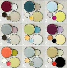 Wall colors match combine complementary colors - Home & Decoration Colour Schemes, Color Combos, Paint Combinations, Paint Schemes, Kitchen Color Schemes, Wall Paint Colour Combination, Combination Colors, Modern Color Schemes, Colour Chart