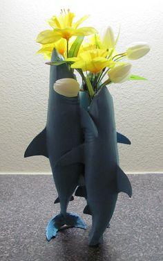 Vase of Sharks