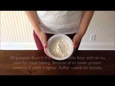 The Basics of Flours for Bread Baking