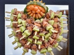 Catering, Fruit Salad, Party, Food, Birthday, Weddings, Fruit Salads, Gastronomia, Eten