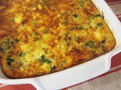 As receitas lá de casa: Tarte de bacalhau com espinafres (sem base)