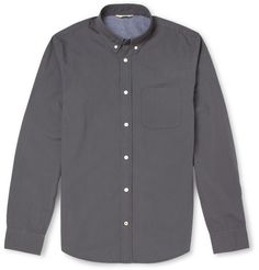 NN.07 - Anders Button-Down Collar Cotton Shirt | MR PORTER