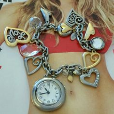 Bracelet with watch from Chico's Ann Taylor Loft. Bracelet  with watch. Ann Taylor Jewelry Bracelets