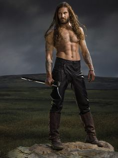 Bad boy Rollo (played by Clive Standen) more or less, moral-less
