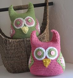 Hootie the Owl Plushies Nursery Decor Made to Match Owl Blankets