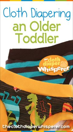 The Cloth Diaper Whisperer: Cloth Diapering an Older Toddler