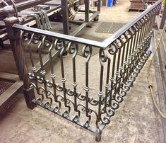 #metalrailing #ornamentaliron #scrollwork