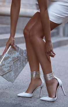You might also Of The Most Popular Fashionable Pumps Ever Stunning Metallised Shoes Ideas You Have Got To Fabulous Wedding Shoes For Brides To Look Cute And Cool High Heel Shoes Love To sure to fol Hot Shoes, Crazy Shoes, Me Too Shoes, Women's Shoes, Zapatos Shoes, Ankle Shoes, Dress Shoes, Stilettos, Pumps Heels