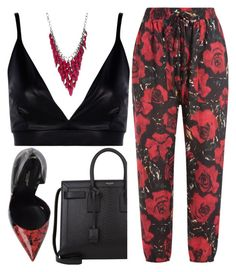 """Untitled #98"" by kels-x ❤ liked on Polyvore featuring Anna Sui, Boohoo, Dolce&Gabbana, Yves Saint Laurent and Alexa Starr"